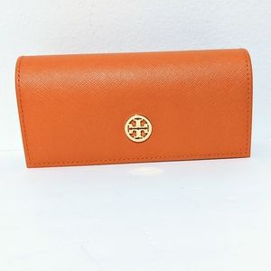 Tory Burch Eyeglass Sunglass Optical Leather Orang